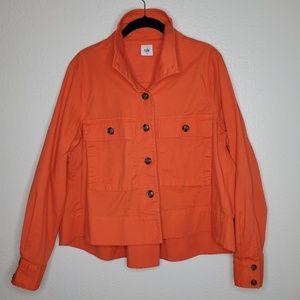 Cabi Tiger Lily Orange Resort Jacket